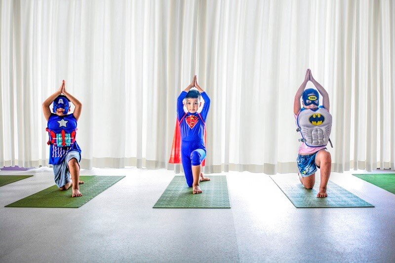 Kids Power Up With New Super Hero Yoga in Da Nang - Balcony
